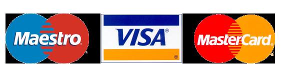 Pagos con tarjetas logo